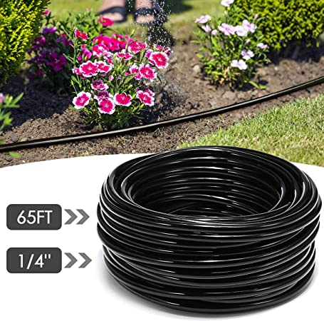 Amazon Com Agsivo 20m Pvc Watering Tubing Hose Pipe 4 7mm For