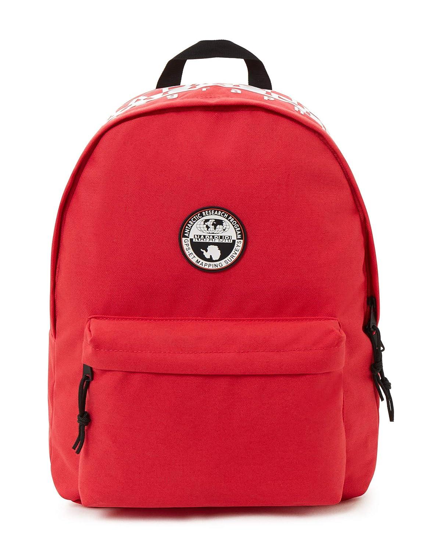Napapijri Happy Day Pack Rucksack, 42 cm, 20 L, Pop rot B07FG3V56S Daypacks Online-Exportgeschäft