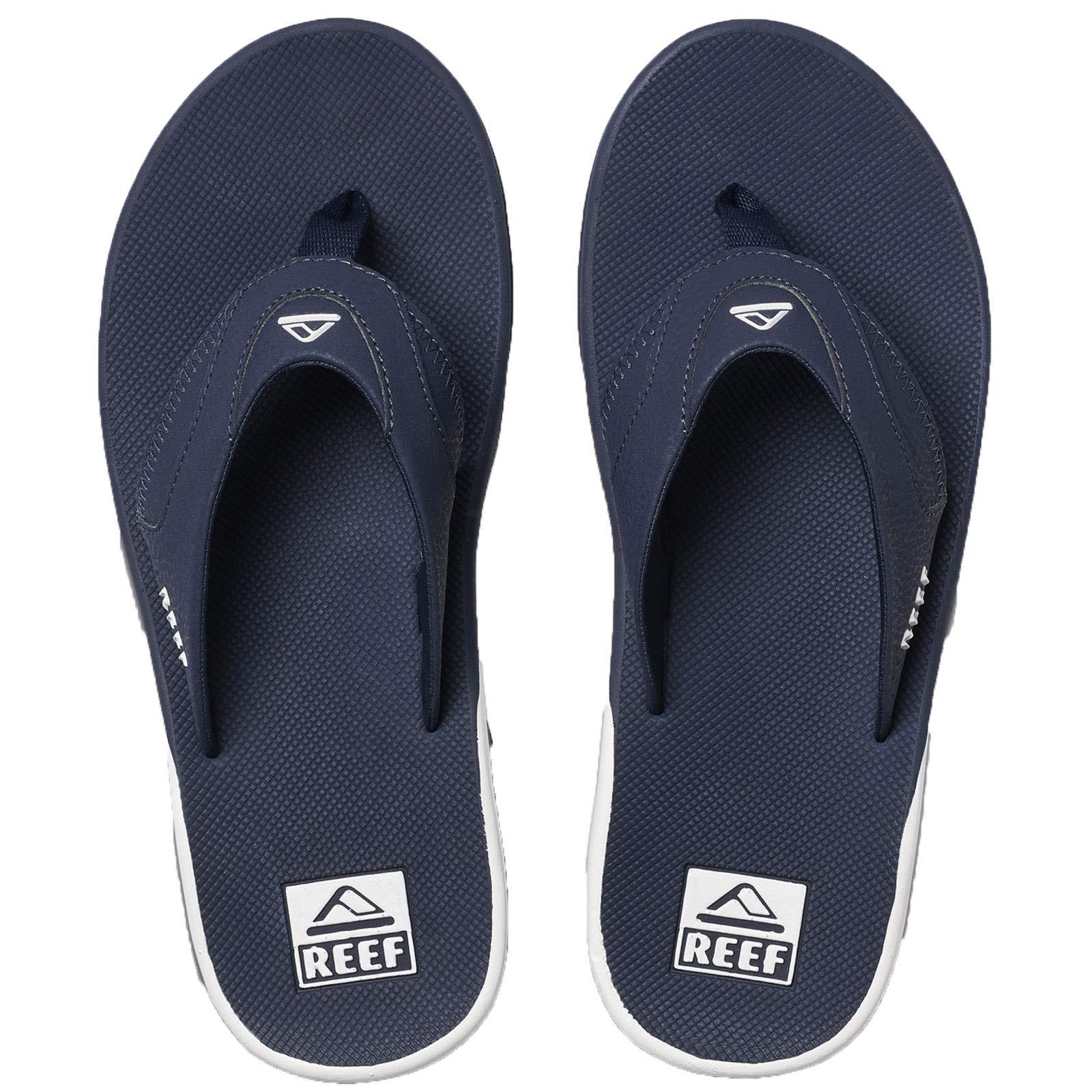 Reef Men's Fanning Sandal Navy/White 110 M US
