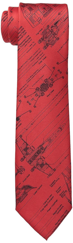 STAR WARS - Corbata para hombre, color azul - Rojo - Regular ...