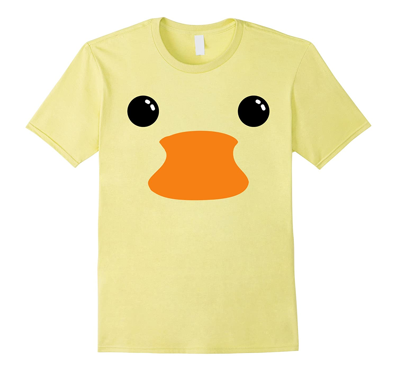 duck face t shirt funny cute animal halloween costume anz