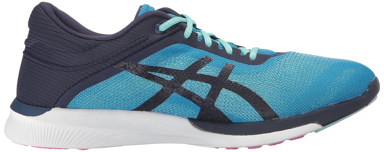 ASICS Women's Fuzex Rush Running Shoe B01GU2SSRS 7 B(M) US|Diva Blue/Indigo Blue/White