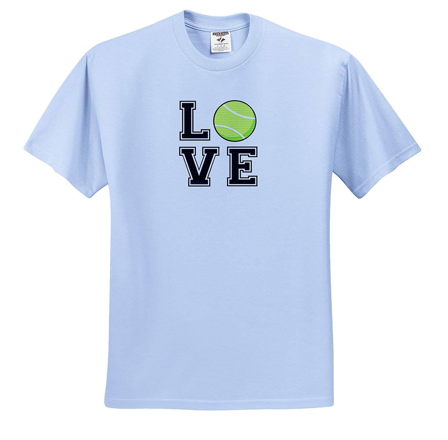 Amazon Janna Salak Designs Sports Print Of Love Tennis T