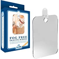 The Shave Well Company Fog Free Shower Mirror 33% Larger Than The Original AntiFog Shower Mirror