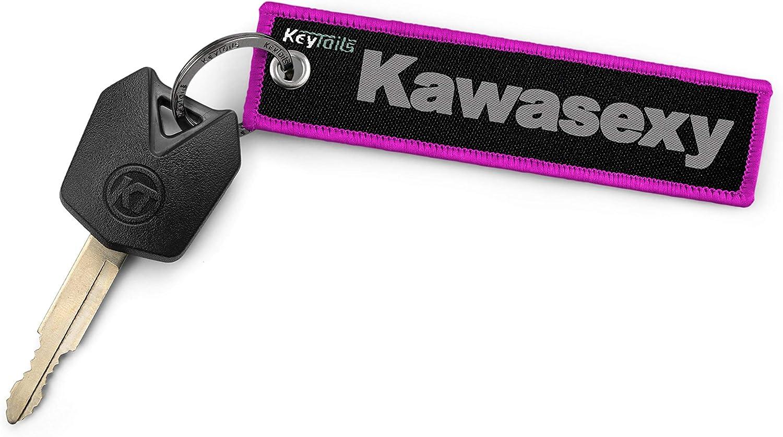 Keytails Schlüsselanhänger In Premium Qualität Für Kawasaki Motorrad Atv Utv Kawasexy Bekleidung