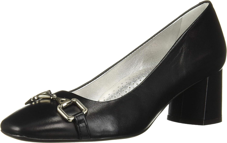MARC JOSEPH NEW YORK Women's Leather Det Pump Astoria Bit Online limited Max 68% OFF product Buckle