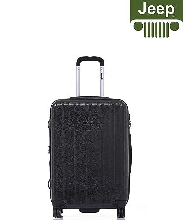 38806423b7 Jeep Luggage Makalu 2019 Hard CaseSuitcase Travel Trolley Tourist Bag with  Spinner Wheels Luggage Sets (Black) (20