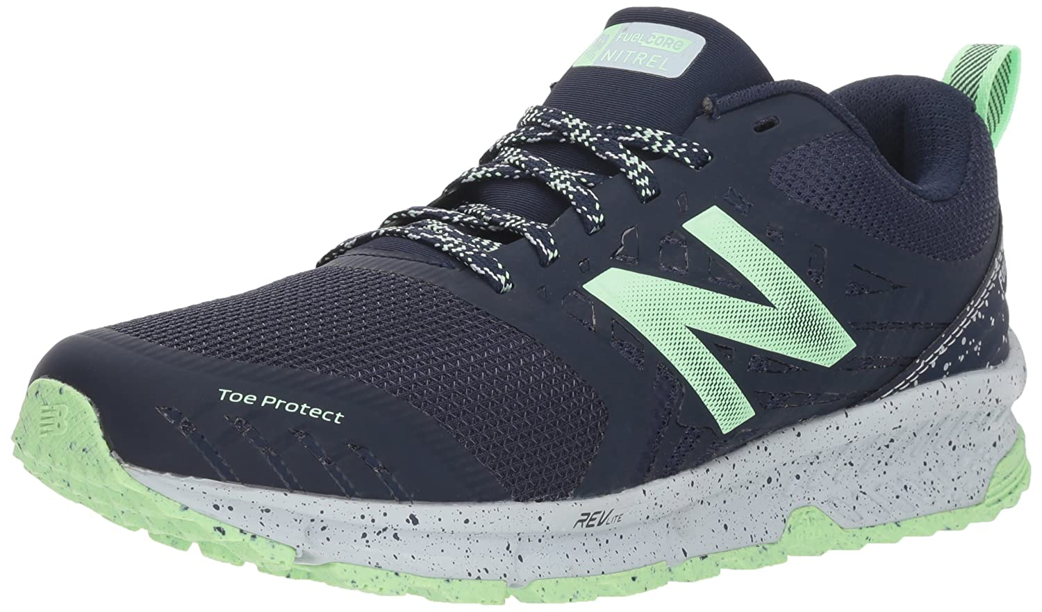 New Balance Women's Nitrel v1 FuelCore Trail Running Shoe B075R7J4P3 6.5 B(M) US|Navy