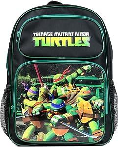 """TMNT Ninja Turtles Large 16"""" School Backpack"""