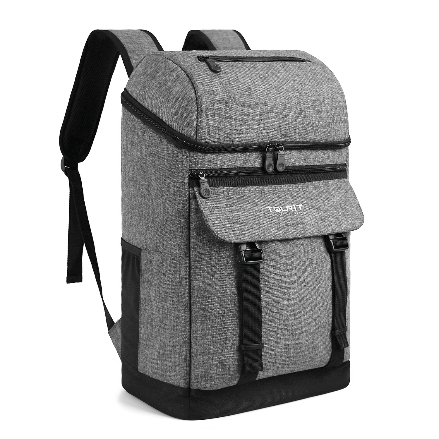 TOURIT Soft Backpack Cooler Bag Insulated Picnic Cooler Back Packs Stylish Light Lunch Backpack Cooler Large Capacity Men Women to Hiking, Camping, Beach Picnics, Park Day Trip