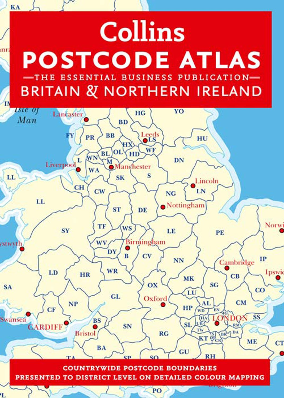 Postcode Atlas of Britain and Northern Ireland Collins Postcode
