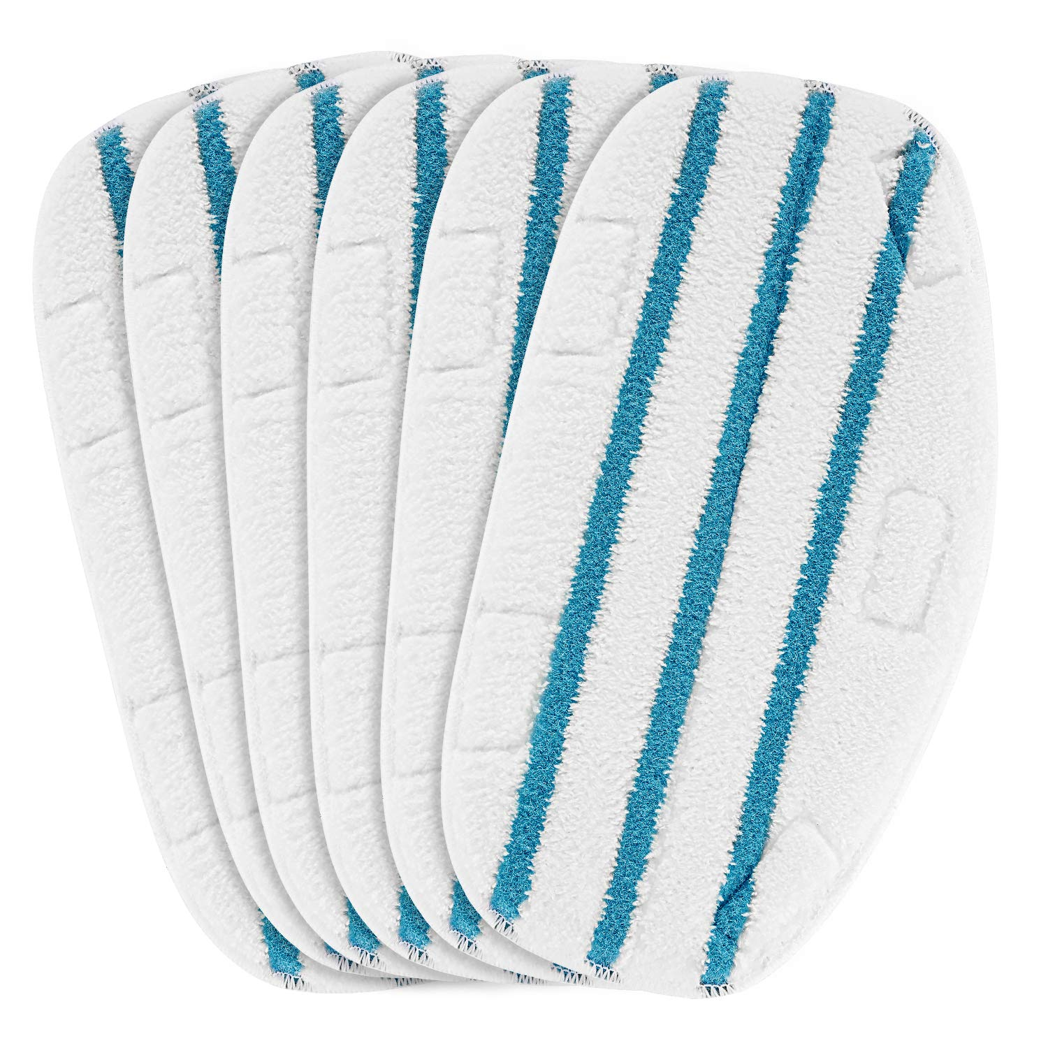 LINNIW 6 Pack Replacement Steam Mop Pads Compatible PurSteam ThermaPro 10-in-1 by LINNIW