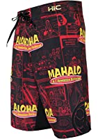 """HIC 21"""" Eat Here 8 Way Octo Super Stretch Boardshorts"""