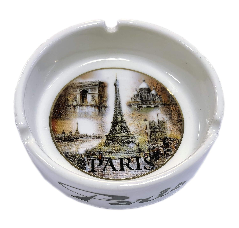 CENDRIER SOUVENIRS DE PARIS - DIMENSION 10,5 CM Dessapt editions