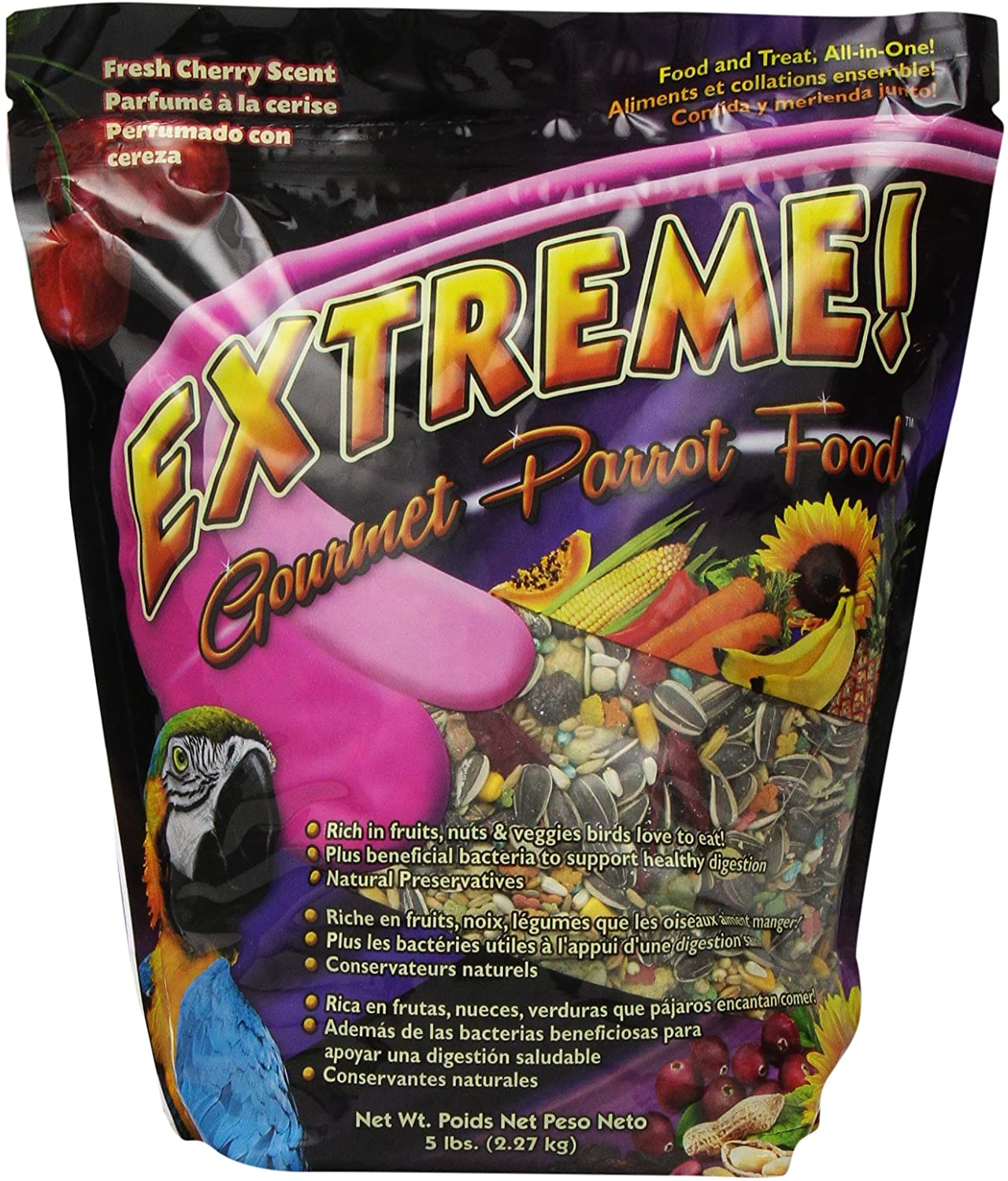 F.M.Brown'S 44512 Extreme Gourmet Parrot Food, 5-Pound