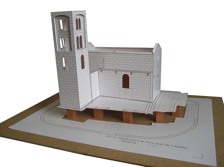 Keranova Kit de cerámica Iglesia de Santo Joan de Caselles Color Gris 30112: Amazon.es: Juguetes y juegos