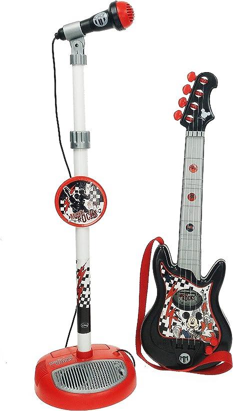 Mickey Mouse - Conjunto guitarra y micrófono infantil (Claudio ...