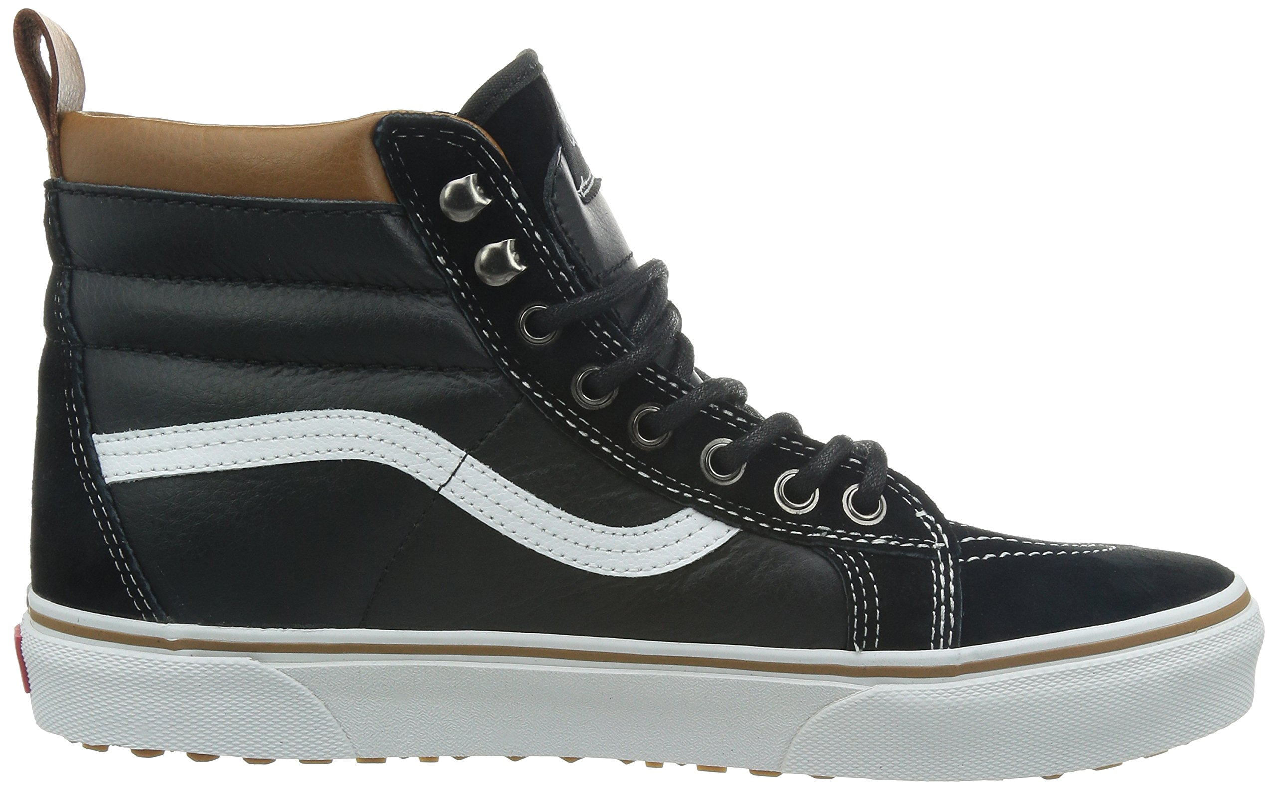 Vans Unisex Sk8-Hi MTE (MTE) Black/True White Skate Shoe 8.5 Men US/10 Women US by Vans (Image #7)