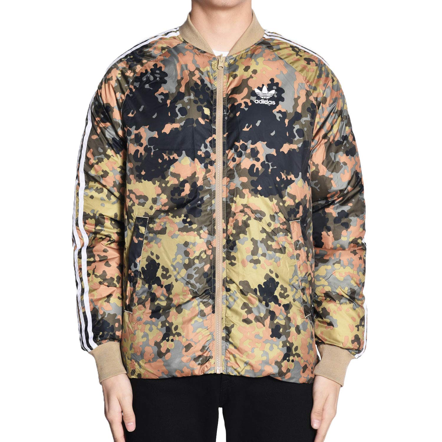 intelectual Portal Figura  Adidas Men's Pharrell Williams Hu Hiking Reversible Camo SST Jacket Cy7867  Medium Multicolor: Amazon.in: Clothing & Accessories