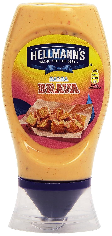 HellmannS Salsa Brava Bocabajo - 250 ml: Amazon.es: Alimentación y bebidas