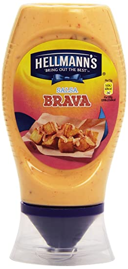 HellmannS Salsa Brava Bocabajo - 250 ml
