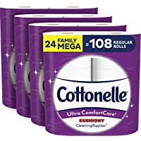 24-Count Cottonelle Ultra ComfortCare Family Mega Roll Toilet Paper