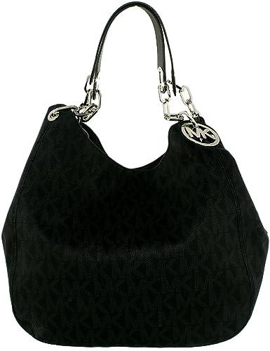 203ccc293f2d MICHAEL Michael Kors Signature Fulton Large Shoulder Bag  Amazon.co.uk   Shoes   Bags