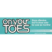 On Your Toes Foot Bactericide Powder - Eliminates Foot Odor for Six Months