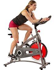 Bicicleta de Ejercicios de Ciclismo de Interior de Cadena Sunny Health & Fitness SF-B1423C con Monitor de LCD