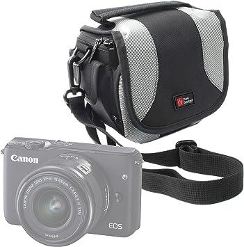 DURAGADGET Bolso para Cámara Evil Canon EOS M10 | Panasonic Lumix ...
