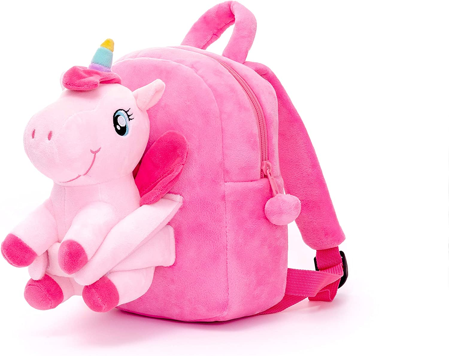 Conzy Kids Unicorn Backpack for 1-5 Year Old Kindergarten Girl Gifts