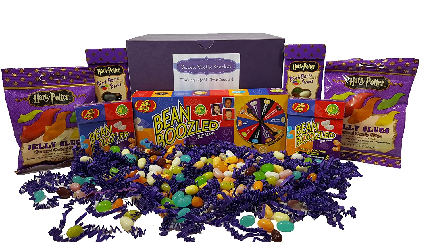 Bean Boozled Spinner Game Harry Potter Chocolate Frog Jelly Refill Dispenser Amazoncom Beanboozled Candy Gift Box With New 4th Edition Grocery Gourmet Food