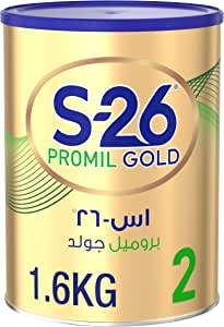 Wyeth Nutrition S26 Promil Gold Stage 2, 6-12 Months Premium Follow On Formula for Babies Tin 1.6kg