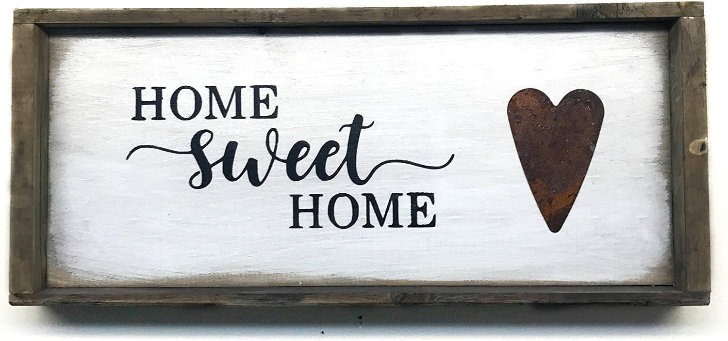 Home Sweet Home, Wooden Sign