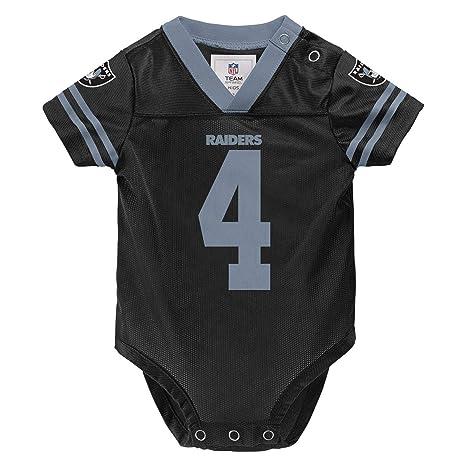 a5f3d057 Amazon.com : Outerstuff Derek Carr Oakland Raiders #4 Black Infants ...