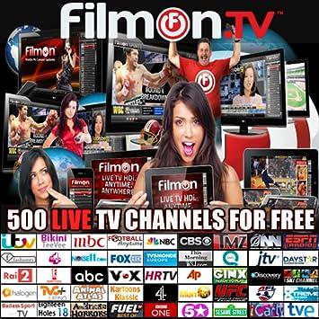 filmon live tv free  vod