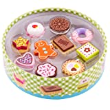 Molly Dolly Wooden Biscuit Box