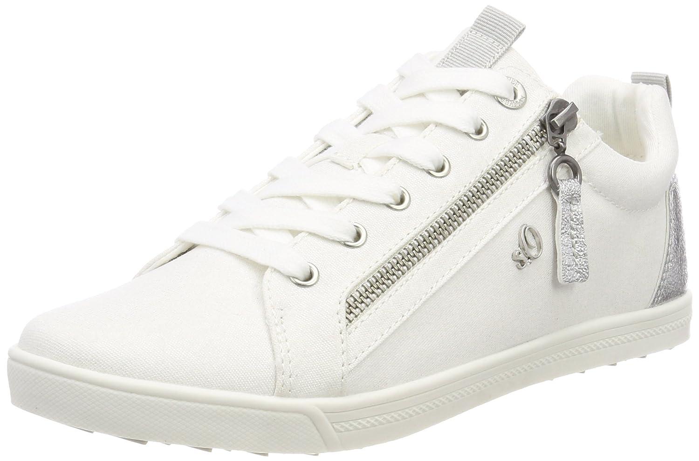 s.Oliver 25201, Zapatillas para Mujer 40 EU Blanco (White)