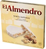 El Almendro - Torta Turron Imperial, Torta Torrone di mandrole duro - Qualità suprema - 200gr (Senza Gluten)
