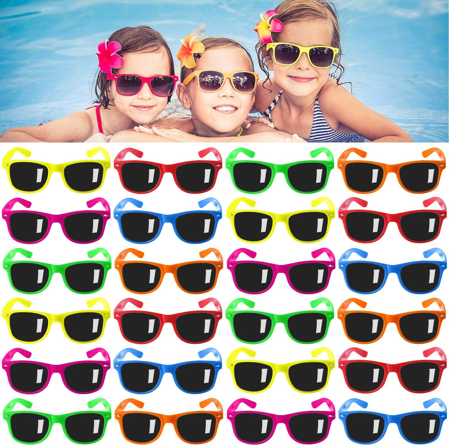 Classic Children Shark Sunglasses Boys Girls Personality Shades Outdoor Glasses