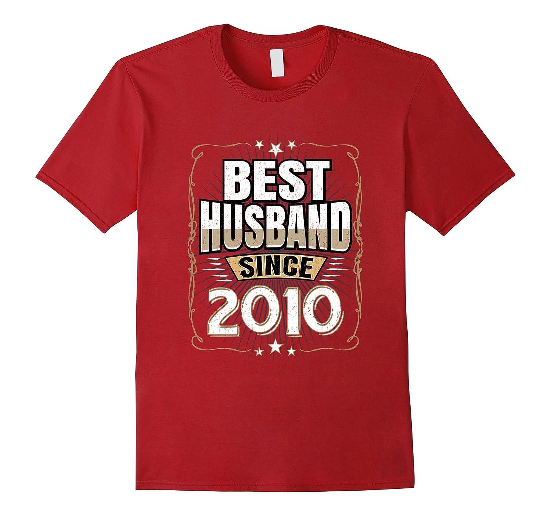 Best Husband Since 2010 T-Shirt 7th Year Wedding Anniversary-FL