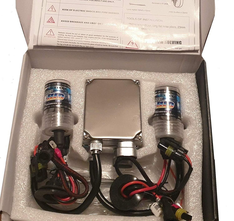 Kit Xenon H1 6000K Ampoule avec BALLAST 35W HID
