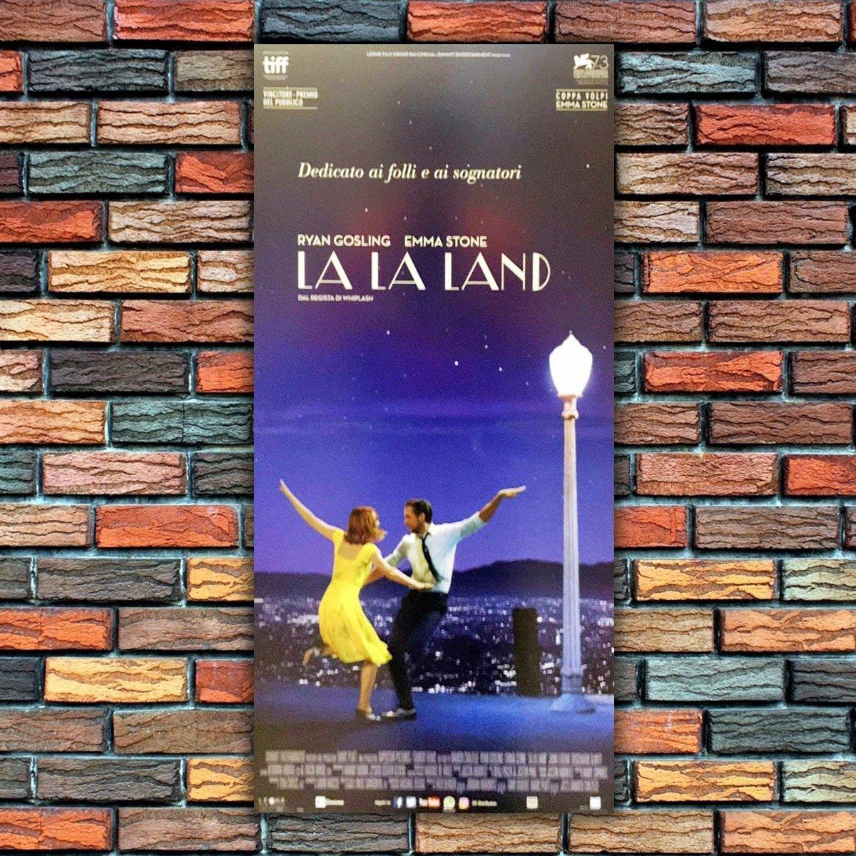 GoPoster Poster Cinema Locandina Originale La La Land - Formato: 33x70 CM