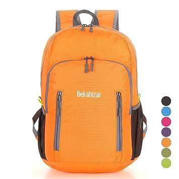 bekahi Zar 20L Ultra Light Peso Mochila plegable Senderismo Daypack – Mochila resistente al agua bolsa