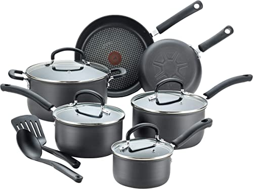 T-fal E765SC Ultimate Hard Anodized Nonstick Cookware Set