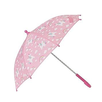 b8bb45ee47073 Sass and Belle Rainbow Unicorn Umbrella: Amazon.co.uk: Luggage