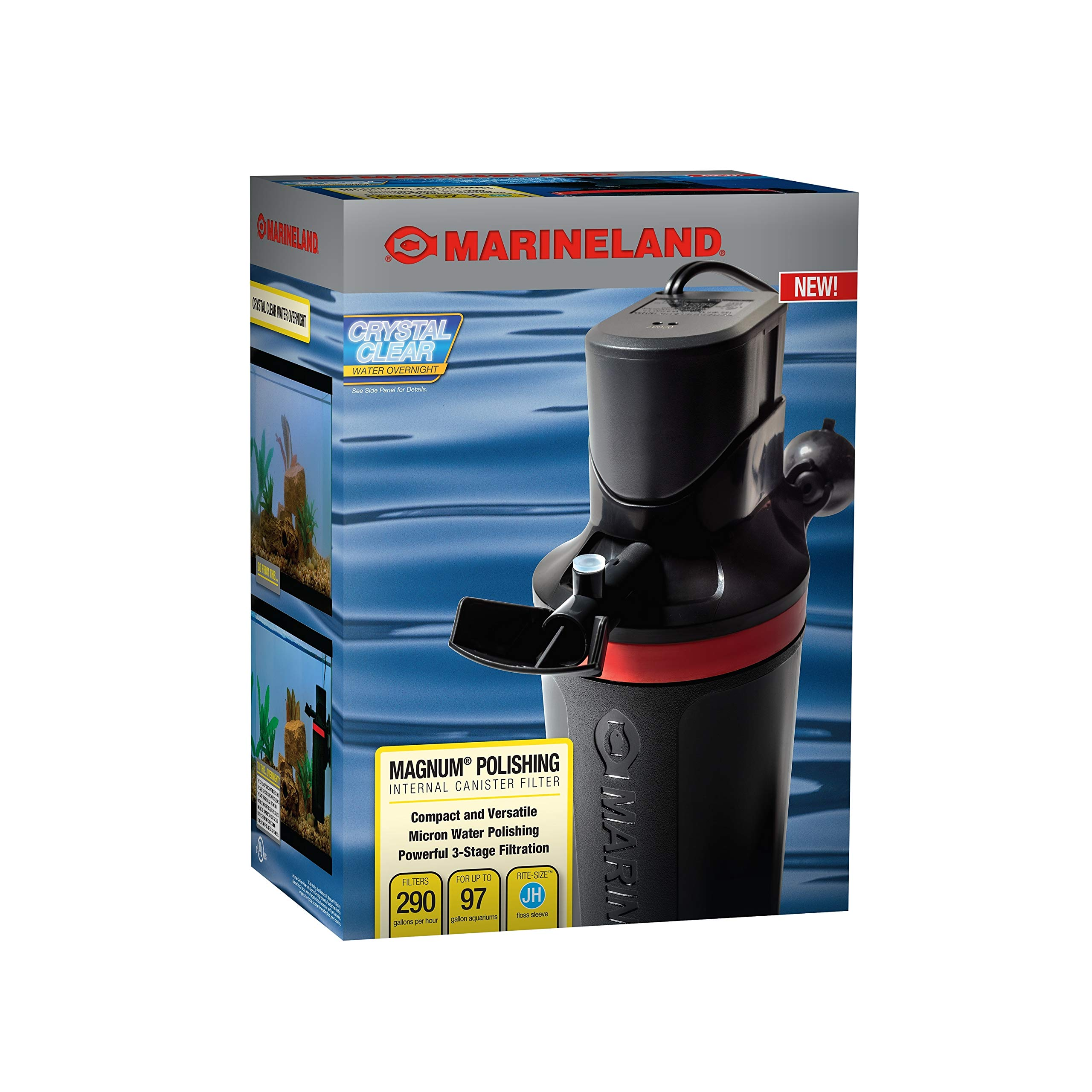Marineland Magnum Polishing Internal Canister Filter (ML90770) by MarineLand
