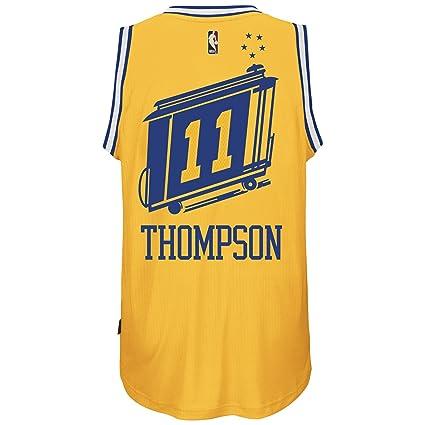 newest 84a6e 91cd0 adidas Klay Thompson Golden State Warriors Hardwood Classics ...
