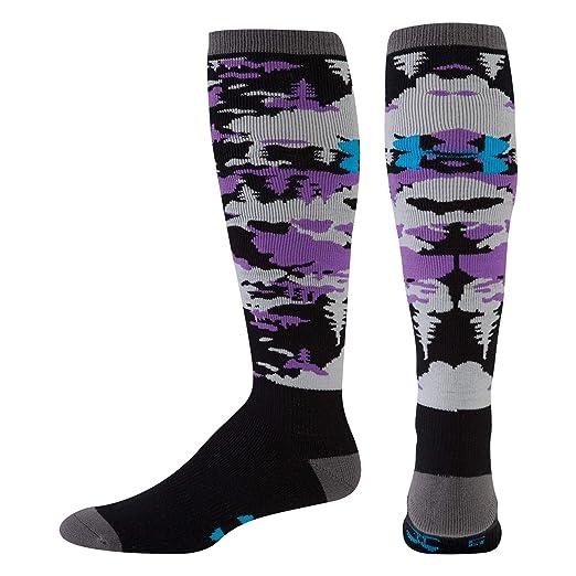 b58986fe5 Amazon.com: Under Armour Men's ColdGear Tundraflage Cushion 0Ver-The-Calf  Socks (1 Pair): Clothing