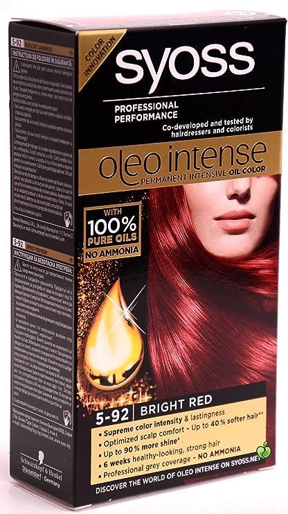 Syoss Oleo Intense Tinte para el cabello 100% aceites puros ...
